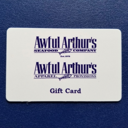 Awful Arthur's Gift Certificates