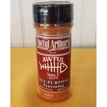 Ghost hot sauce awful arthur 39 s seafood company st michaels for Best fish seasoning